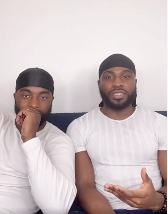 Doyin Okupe's Gay son, Bolu and partner, Mfaome disclose how they met