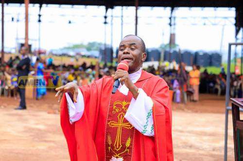 Catholic Diocese Of Enugu Begins One Week Prayer For Cleansing After Father Mbaka's Supporters Attack