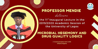 UNILAG 11th Inaugural Lecture For 2019/2020 Delivered by Professor Mendie