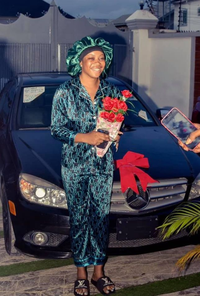 Young Man Gifts His Girlfriend a Car For Her Birthday to Appreciate Her For Supporting Him When He Was Broke