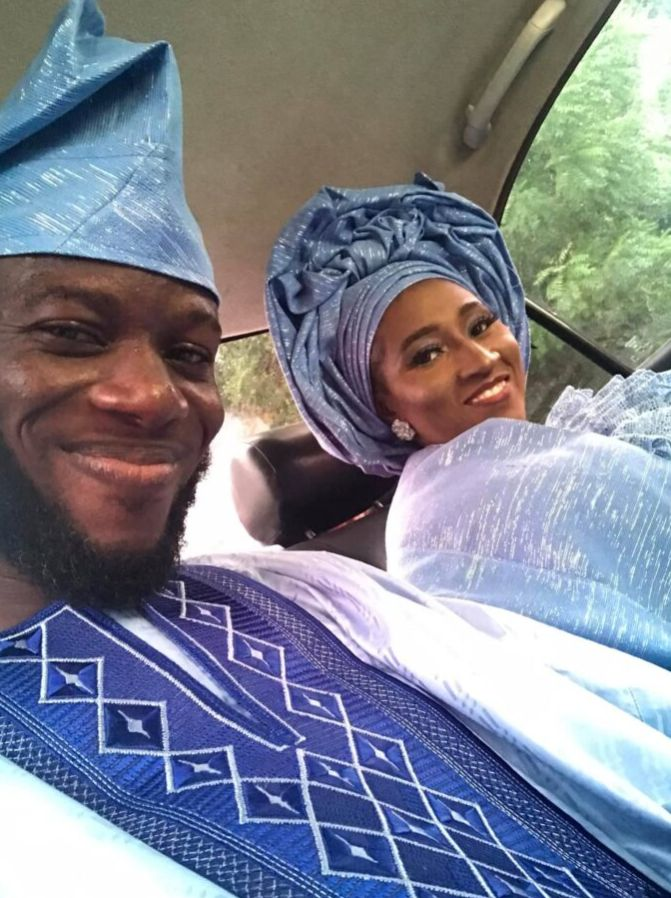 Nigerian man marries his lover, seven years after he pleaded with her to accept his friend request on Facebook