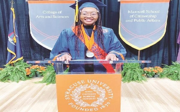 Nigerian girl is US University's overall best student