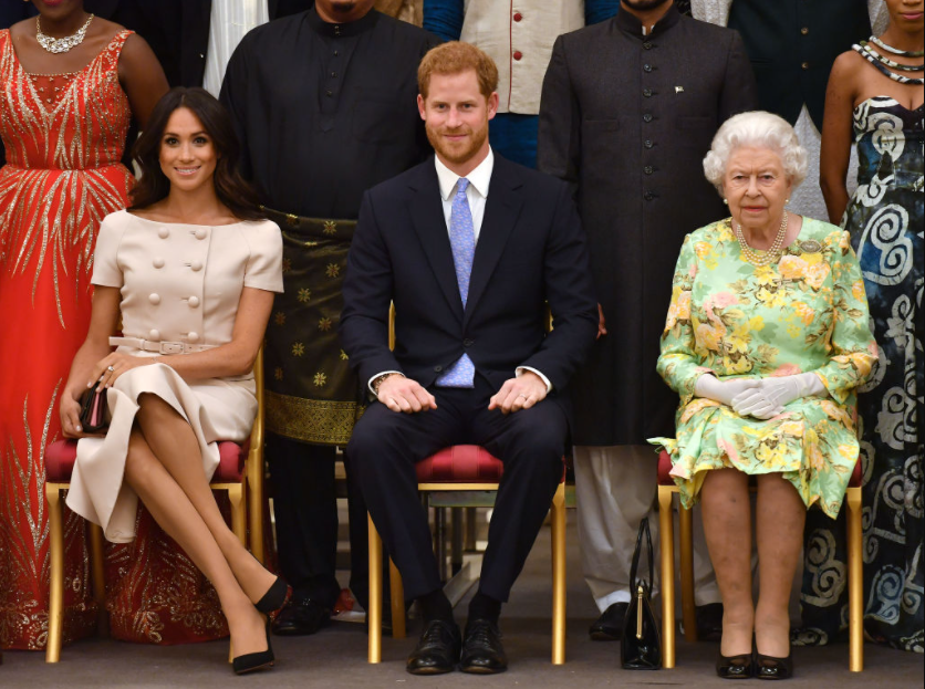 Prince Harry blasts Palace – insists he took permission from Queen Elizabeth to use her nickname for his daughter