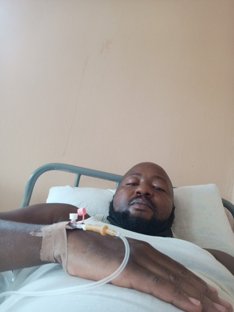 Patient flees hospital bed to go pay ransom to kidnappers who kidnapped his sister-in-law
