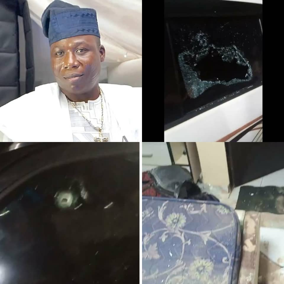 Sunday Igboho demands 500 million naira compensation from the FG for damages to his house and cars