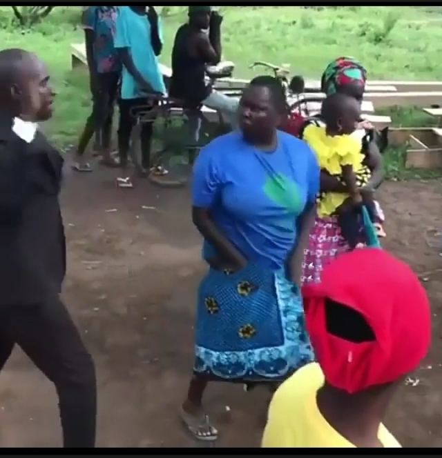 Watch As Woman Fights Pastor As He Tries To Lay Hands On Her