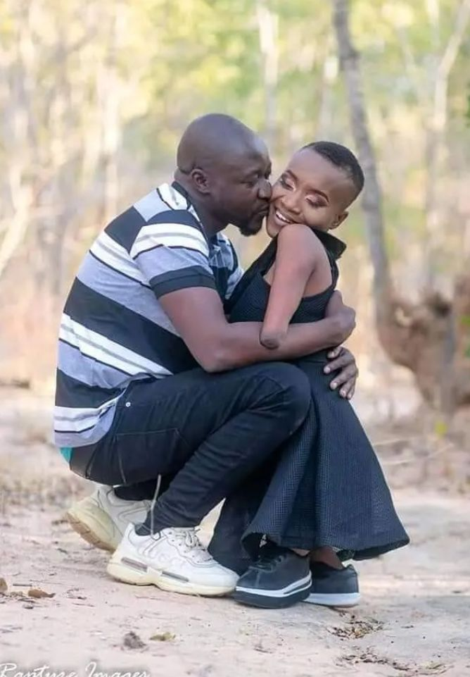 Physically Disabled Woman Shows Off The Love of Her Life (Pictures)