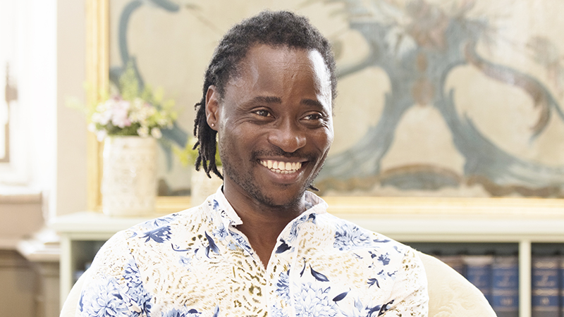 See what Bisi Alimi passes through daily
