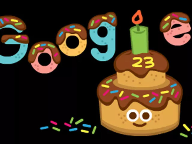 Guess how old Google is today!
