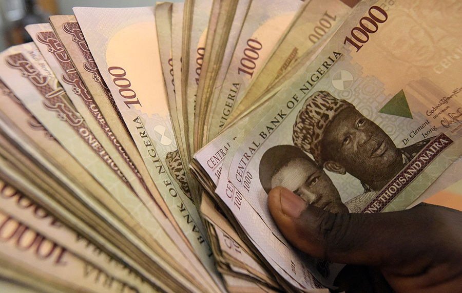 See how much the naira currently exchanges for the dollar